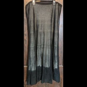 Nic+Zoe 2-layered skirt (XL)